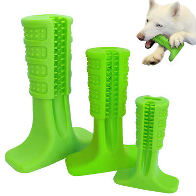 Dog Toothbrush Toy Rubber Chew Dog Toys Dog Grind Teeth Chew Bite Molar Stick
