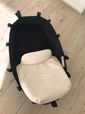 Bugaboo Donkey: Bassinet Pram Carrycot + Apron Pick Up Shell Cove 2529