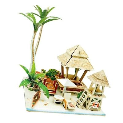 DIY Mansion Attic 1:24 Doll House with Furniture and Accs 3D Jigsaw #8