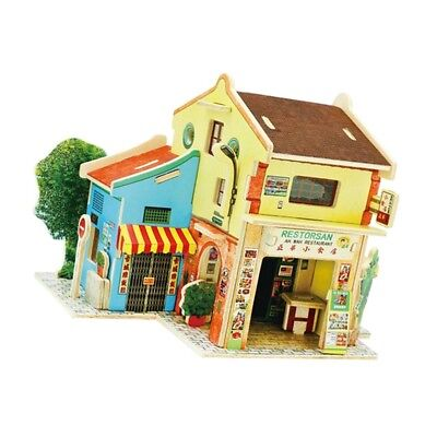 DIY Mansion Attic 1:24 Doll House with Furniture and Accs 3D Jigsaw #6