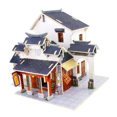 DIY Mansion Attic 1:24 Doll House with Furniture and Accs 3D Jigsaw #5