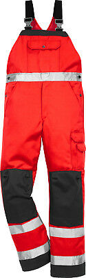Fristads Kansas 100003-396 High Vis Latzhose 2001 TH - Gr.48-66 Warnschutz