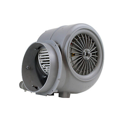 Centrifugal extractor fan blower, double inlet 1930 RPM; 730 m3/h; 230 V