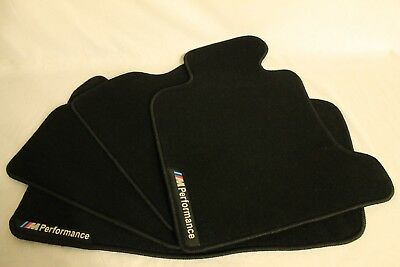 BMW M Performance High Quality Floor Mats Kit 4 pcs Waterproof For Any BMW Model