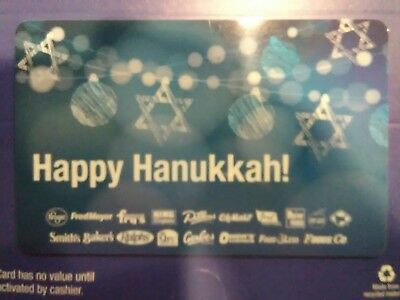 Kroger Gift Card.  Happy Hanukkah.  Hard to Find