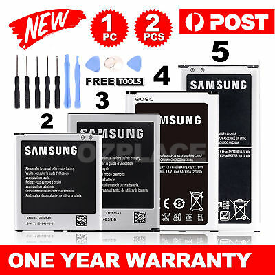 New Premium OEM Li-ion Replacement Battery For Samsung Galaxy S3 S4 S5 Note 3 4