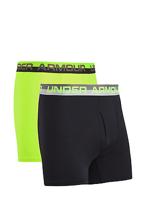 New Under Armour Big Boys' 1 or 2 Pack Performance Fitted Boxer Briefs S M L XL