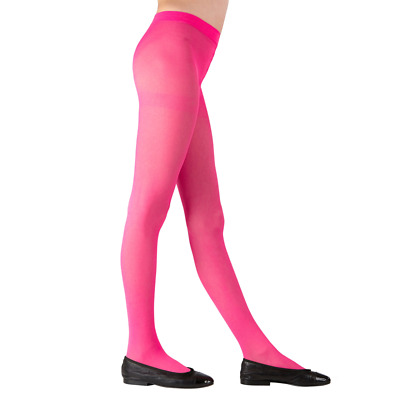 Childs Pink Tights 3 Sizes for Ages 4-6, 7-10, 11-14 years Dance Book Week