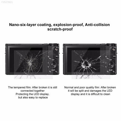 BE3F 2.5D 9H SLR Camera Tempered Glass Screen Film Cover For Nikon D3200/D3300