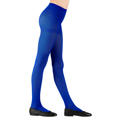 Childs Royal Blue Tights 3 Sizes for Ages 4-6, 7-10, 11-14 years Dance Book Week