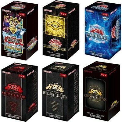 Yu-Gi-Oh! Cards Korean Version Lot Rare Booster Pack Box yugioh OCG / Select