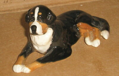 Dog Figurine Bernese Mountain Dog