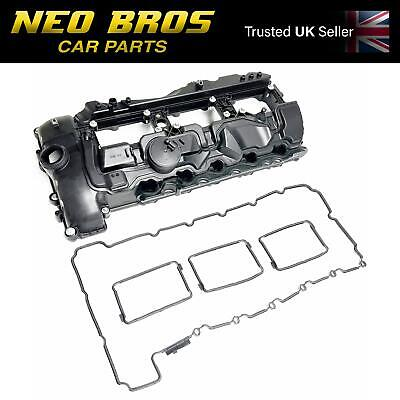 Engine Valve Cover & Gasket for BMW 1 2 3 4 5 6 7 Series X3 X5 X6 N55 3.0 Petrol
