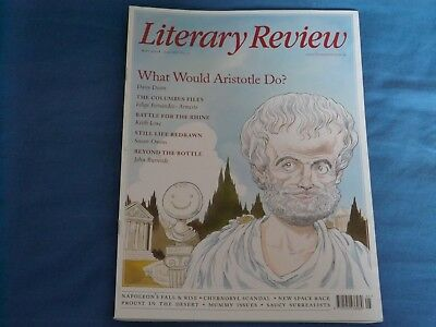 Literary Review May 2018 Issue 464, Surrealists Napoleon, Francis Bacon, Hockney