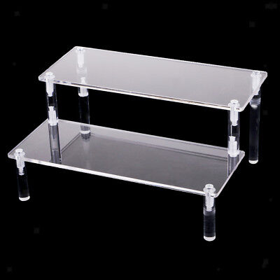 Acrylic Shelf Display Rack for Cupcake,makeup, perfume, collectibles