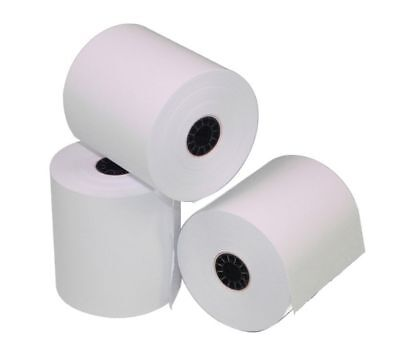 "100 Rolls/Case 2 1/4"" x 50' Thermal Receipt Cash Register Credit Card Paper"