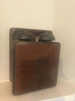 Vintage Wooden Bell Box GPO No 1A Not Tried Or Tested