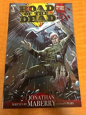 Road of the Dead Highway to Hell #1 • Cover B • 1st Print • IDW 2018 • NM- 9.2