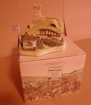David Winter Cottages - Home Guard - Guild Piece #5 - New- In Original Box