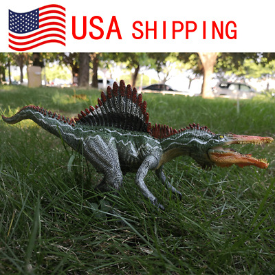 12.6'' Spinosaurus Dinosaur Figure Educational Toy Model Christmas Gift for Boy