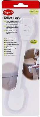 Clippasafe TOILET LOCK/LATCH Baby/Child/Toddler Home Safety Proofing BNIP