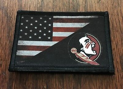 USA Florida FL STATE FLAG U.S ARMY MORALE TACTICAL MILITARY BADGE PATCH