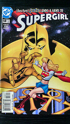 Supergirl #58 July 2001  NMint Doctor Fate lends a hand
