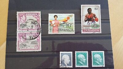 Briefmarken Lot Jamaica