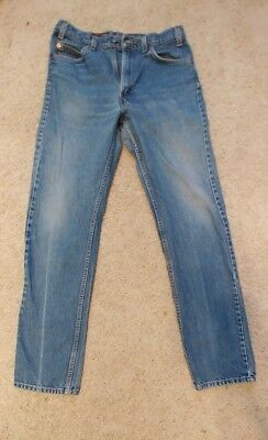 Men's Levis 505 Jeans Made In USA Size 34W x 34L