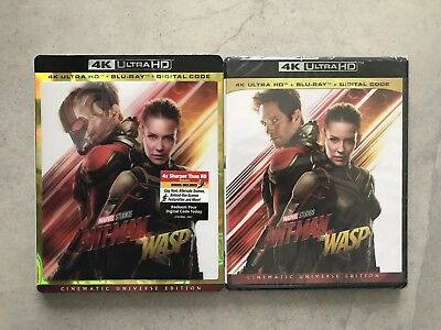 Antman And The Wasp w/ Lenticular Slipcover (4K Ultra HD + Blu-ray + Digital)