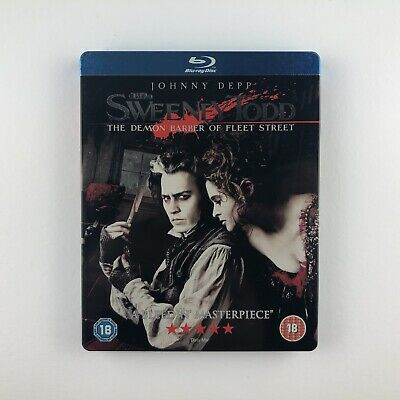 Sweeney Todd: The Demon Barber of Fleet Street (Steelbook) (Blu-ray, 2008)