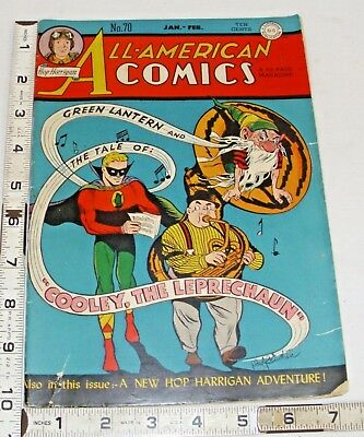 All American Comics Jan. Feb. Vol. 70 1946 Green Lantern Original Issue