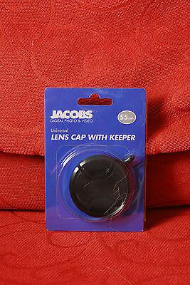 Jacobs Lens Cap with Keeper 55mm