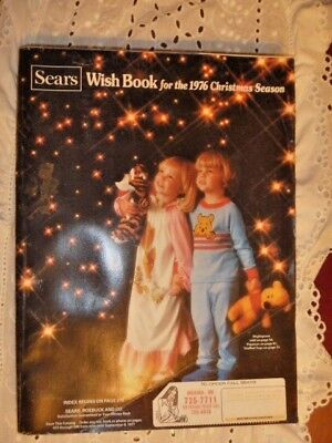 1976 Sears Christmas Wish Book Catalog Toys Trucks Dolls Excellent
