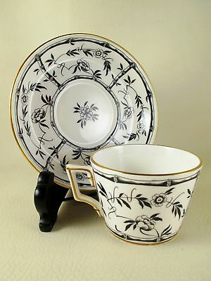 BLACK BAMBOO by HAMMERSLEY Porcelain Cup & Saucer Set (s)