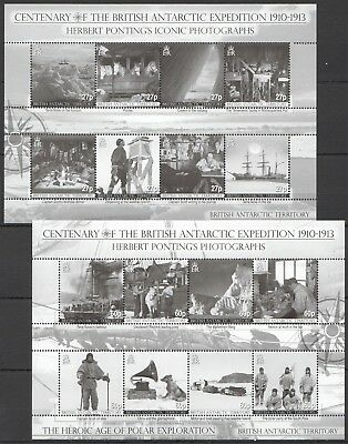I464 British Antarctic Territory Centenary Of Expedition Michel 28 Euro 2Kb Mnh
