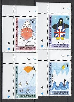 I454 British Antarctic Territory Stamp Design #412-415 Michel 15 Euro Set Mnh