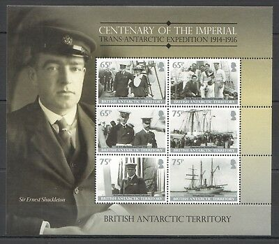 I443 2013 British Antarctic Territory Ships Expedition Michel 17 Euro Kb Mnh