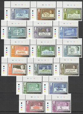 I433 British Antarctic Territory Stamps On Stamps Qeii Michel 52 Euro Set Mnh