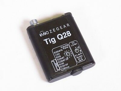 Mozegear Tig Q28 Timecode Generator for 5-pin Lemo Connection