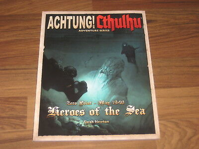 Achtung! Cthulhu Zero Point May 1940 Heroes of the Sea Modiphius Entertainment