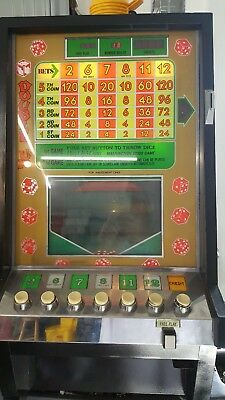 Vintage coin operated dice game (Slot Machine)