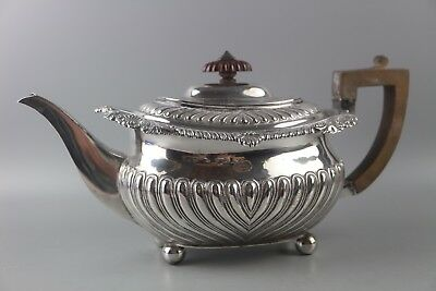 ANTIQUE STUNNING HEAVY GEORGIAN SOLID STERLING SILVER TEAPOT 646g, LONDON 1817
