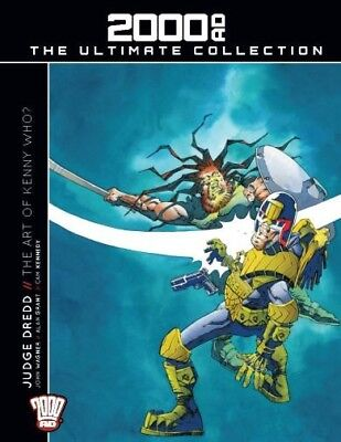 2000ad Ultimate Collection Issue 22 The Art Of Kenny Who? hardback judge dredd