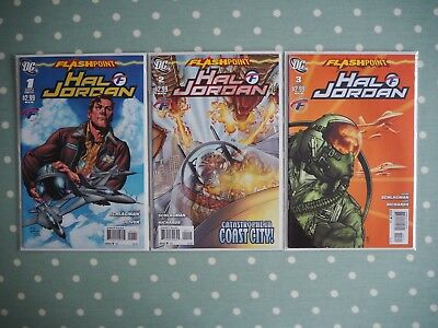 DC - Flashpoint Hal Jordan Vol. 1 2011 Complete Limited Series #1 #2 #3 [VF-]
