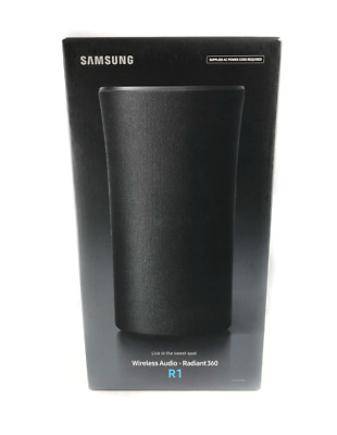 Samsung WAM1500 Radiant360 R1 Wireless Bluetooth Speaker - Black