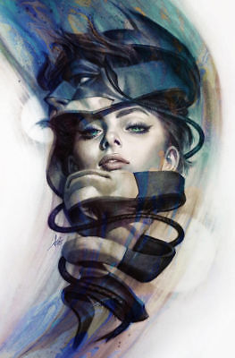 DC CATWOMAN #5 Stanley Artgerm Lau Variant NM+ Bagged & Boarded ready to ship