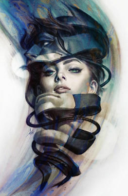 DC CATWOMAN #5 Stanley Artgerm Lau Variant NM+ Bagged & Boarded in stock