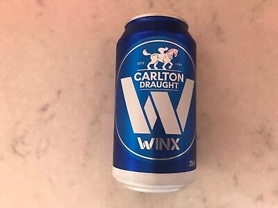 WINX LIMITED EDITION COX PLATE BEER CAN (full)