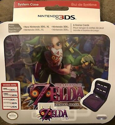 Nintendo The Legend Of Zelda Majora's Mask 3DS System Case New Sealed.